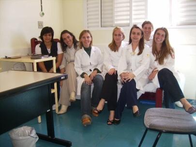 Primeira reunião da equipe - 2007