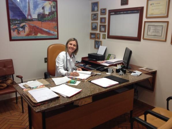 No consultório da Urologia