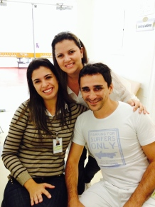 Carol, Juliana e Samuel - 2014