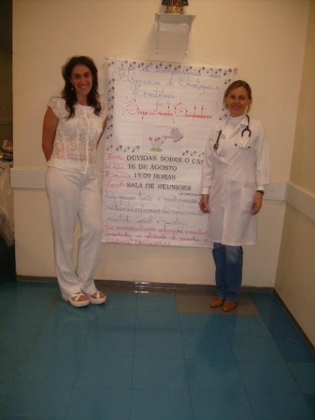 Capacitação de cuidadores - 2007