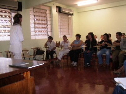 Capacitando cuidadores - Corina - 2007