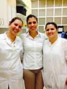 Telma, Carol e Juliana - 2014