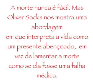 Oliver Sacks frase