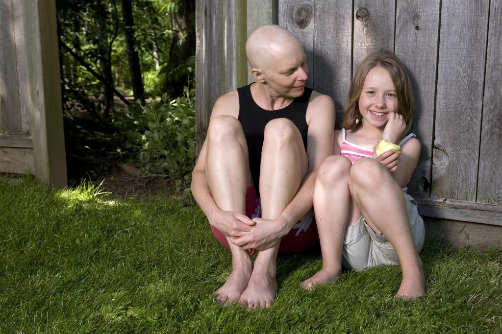 Mãe com câncer e filha