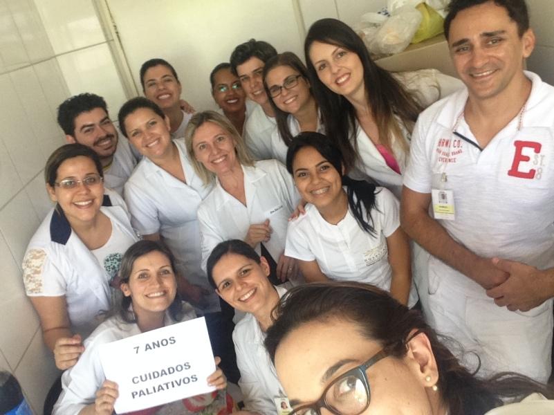Selfie comemorativa dos sete anos de UCP - 2015