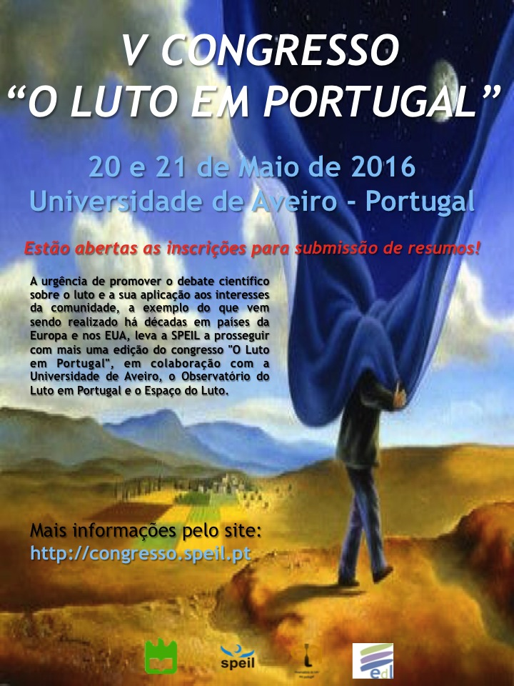 Luto - congresso em Portugal